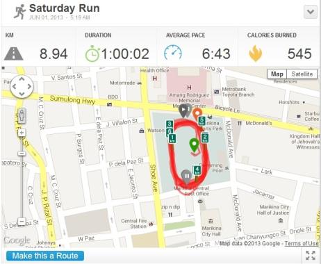 June 01 run