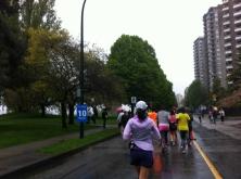 at 10km mark
