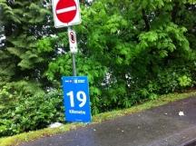 19th km mark