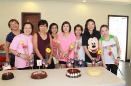 with Birthday celebrants